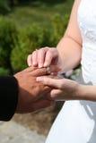 Hochzeits-Zeremonie Lizenzfreies Stockbild