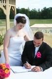 Hochzeits-Zeremonie Lizenzfreie Stockbilder