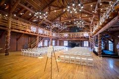 Hochzeits-Zeremonie-Ort-Einrichtung stockfotos