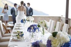 Hochzeitsabendessen Lizenzfreie Stockfotografie