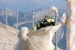 Hochzeitsaltar Stockfotografie