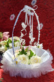 Hochzeitsanordnung lizenzfreie stockbilder