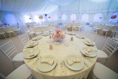 Hochzeitsanordnung Stockfotografie