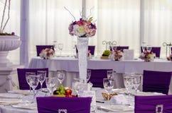 Hochzeitsanordnung Stockbild