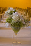 Hochzeitsaufbau Lizenzfreies Stockbild