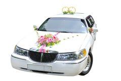 Hochzeitsauto Stockfotos