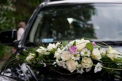 Hochzeitsauto Lizenzfreies Stockfoto