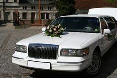 Hochzeitsauto Stockfoto