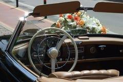 Hochzeitsauto Lizenzfreie Stockfotos