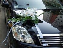 Hochzeitsauto Stockbild