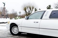 Hochzeitsauto mit Blumen. Lizenzfreie Stockfotografie