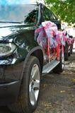 Hochzeitsautos Stockbild
