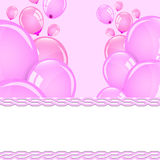Hochzeitsballone Stockfoto