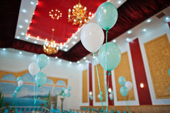 Hochzeitsballone lizenzfreies stockfoto
