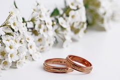 Hochzeitsband Lizenzfreies Stockbild