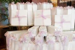 Hochzeitsbevorzugungen lizenzfreie stockbilder