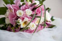 Hochzeitsblumen Stockfoto
