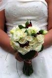 Hochzeitsblumen an der Taille Lizenzfreie Stockfotos