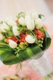 Hochzeitsblumenstrauß Stockfoto