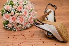 Hochzeitsblumenstrauß Stockbild