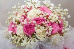 Hochzeitsblumenstrauß. Lizenzfreies Stockbild
