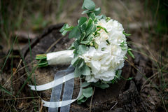 Hochzeitsblumenstrauß, Lizenzfreie Stockfotos