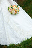 Hochzeitsblumenstrauß Stockfotos