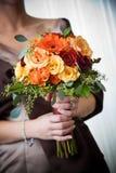 Hochzeitsblumenstrauß der Blumen Lizenzfreies Stockfoto