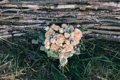 Hochzeitsblumenstrauß der Blumen Lizenzfreies Stockbild