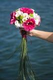 Hochzeitsblumenstrauß der Braut Lizenzfreie Stockfotos