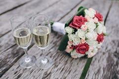 Hochzeitsblumenstrauß HD Lizenzfreies Stockbild