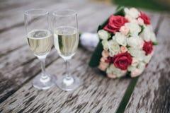 Hochzeitsblumenstrauß HD Stockfoto