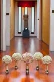 Hochzeitsblumenstrauß mit Rosen Stockfotos