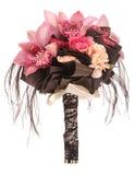 Hochzeitsblumenstrauß von Orchideen Stockbild