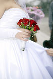 Hochzeitsblumenstraußblumen Lizenzfreies Stockbild