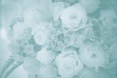 Hochzeitsblumenstraußblumen Stockbild