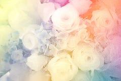 Hochzeitsblumenstraußblumen Stockbilder