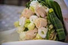 Hochzeitsblumenstraußdetail Lizenzfreies Stockbild