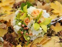Hochzeitsblumenstrauß. Stockbilder
