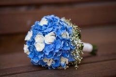 Hochzeitsblumenstrauß der Blumen Stockbilder