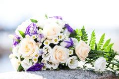Hochzeitsblumenstrau? der Blumen lizenzfreies stockbild