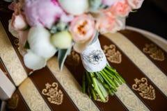 Hochzeitsblumenstrau? der Blumen stockbild