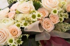 Hochzeitsblumenstraußdetail Lizenzfreies Stockfoto