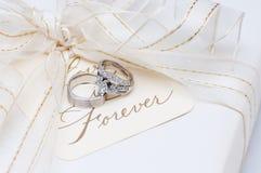 Hochzeitsbänder Stockbild