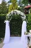 Hochzeitsbogen Stockfotos