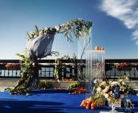 Hochzeitsbogen für Ausrichtung Lizenzfreie Stockbilder