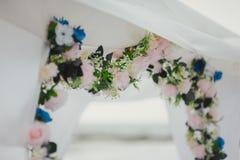 Hochzeitsbogenzeremonien Lizenzfreie Stockbilder
