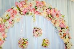 Hochzeitsbogenzeremonien Lizenzfreies Stockbild