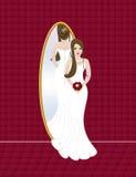 Hochzeitsbraut Stockbild