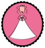 Hochzeitsbraut lizenzfreie abbildung